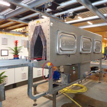 Limex klantspecifieke wasmachines.