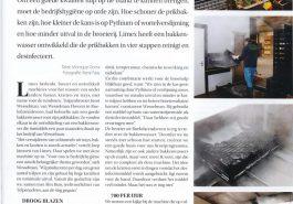 Limex nieuwe wasmachine voor prikbakken/tulpenbakken