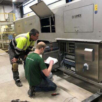 Service en onderhoud machine Limex 3.